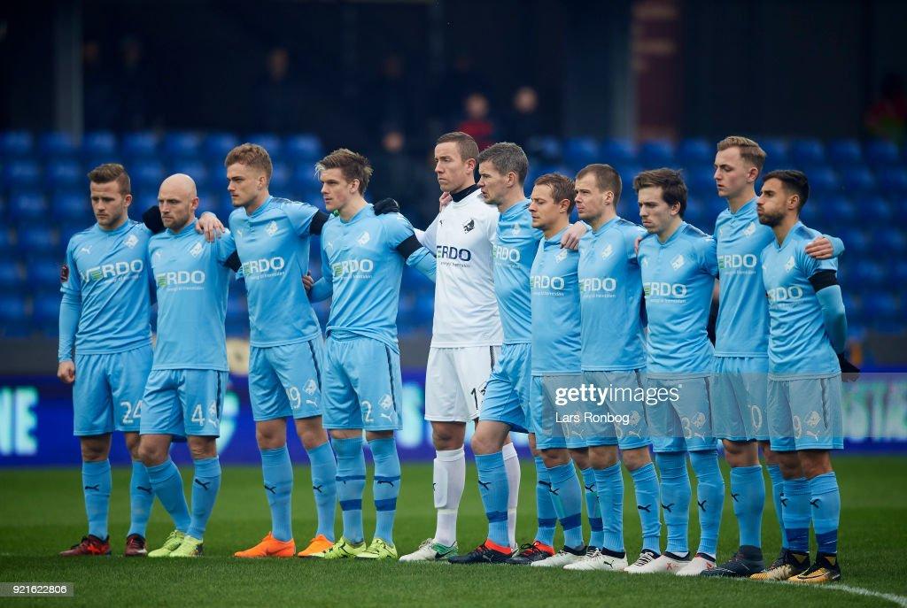 Randers FC vs Hobro IK - Danish Alka Superliga : Foto di attualità