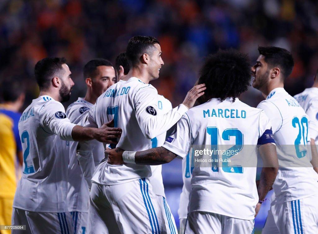 APOEL Nikosia v Real Madrid - UEFA Champions League : News Photo