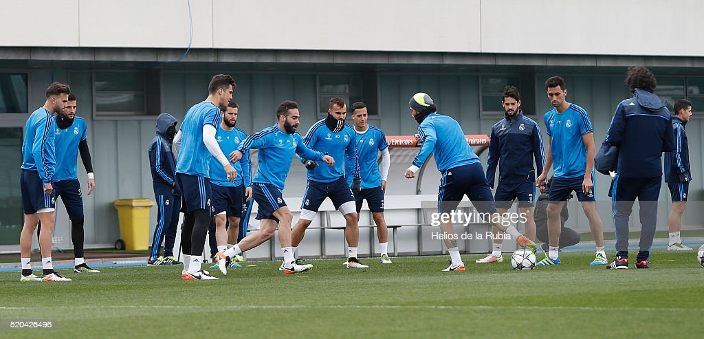 Real Madrid CF Training and Press Confernece : News Photo
