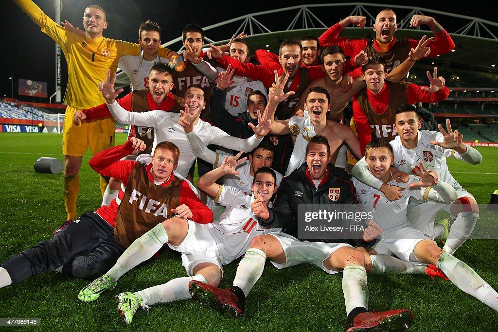 USA v Serbia: Quarter Final - FIFA U-20 World Cup New Zealand 2015 : News Photo