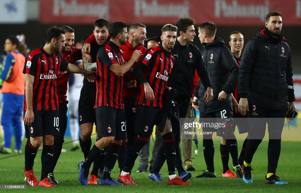 Chievo Verona v AC Milan - Serie A : News Photo