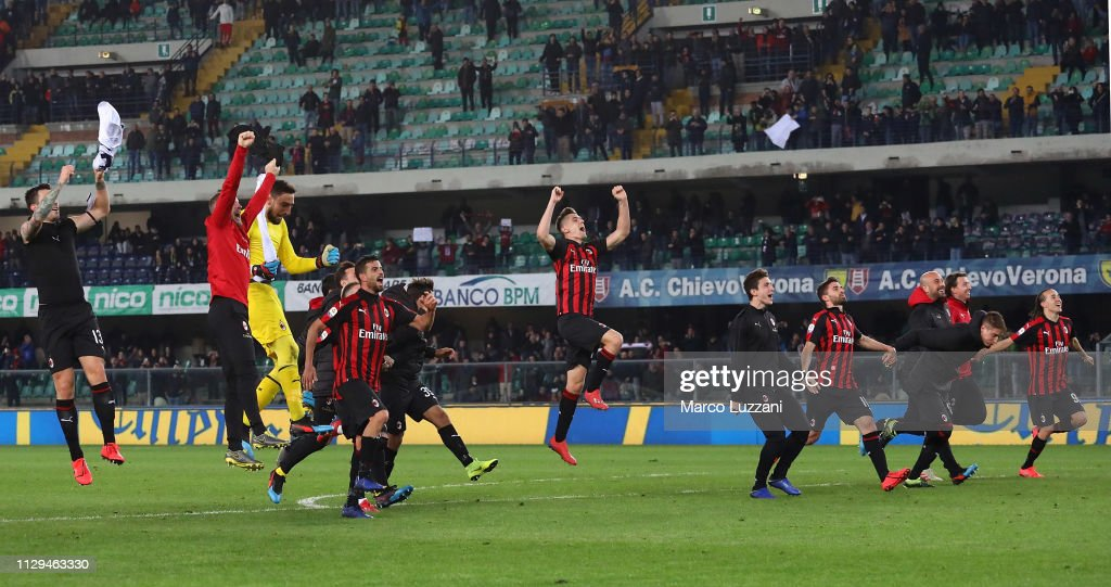 Chievo Verona v AC Milan - Serie A : News Photo