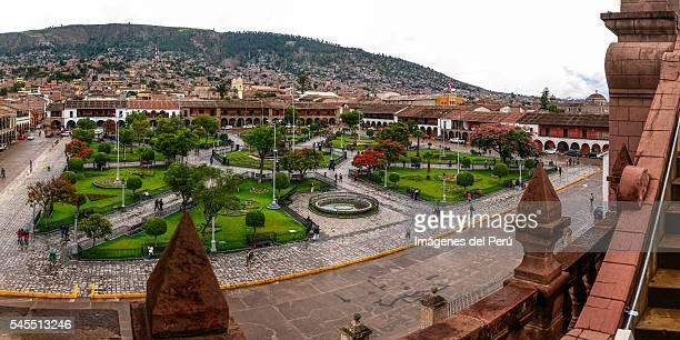 The Plaza de Armas of Ayacucho