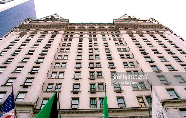 The Plaza hotel in New York City where on November 18 2000 actor Michael Douglas and actress Catherine ZetaJones will wed