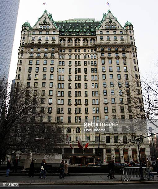 The Plaza Hotel is seen March 16 2005 in New York City The legendary Plaza Hotel which opened in 1907 and hosted New York's elite for decades will...