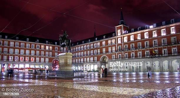 CONTENT] The Plaza Mayor has been the scene of multitudinous events markets bullfights soccer games public executions and during the Spanish...