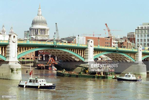 The pleasure boat Marchioness sank after being hit by the dredger Bowbelle on the River Thames in the early hours of 20th August 1989 The 131 people...