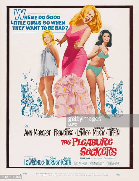 The Pleasure Seekers poster US poster art from left Carol Lynley AnnMargret Pamela Tiffin 1964