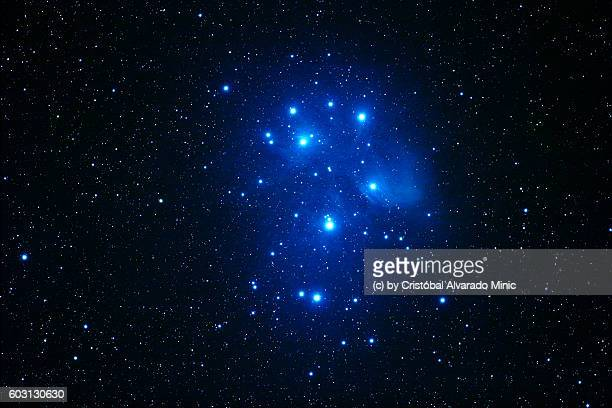 The Pleiades or Seven Sisters, Messier 45