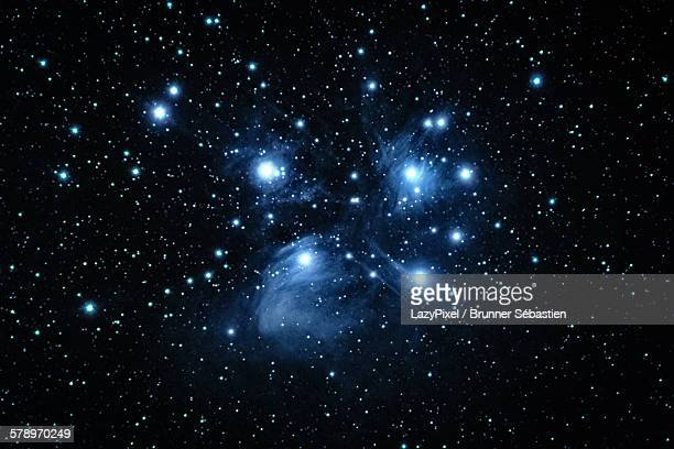 m 45, the pleiades - star space stock pictures, royalty-free photos & images
