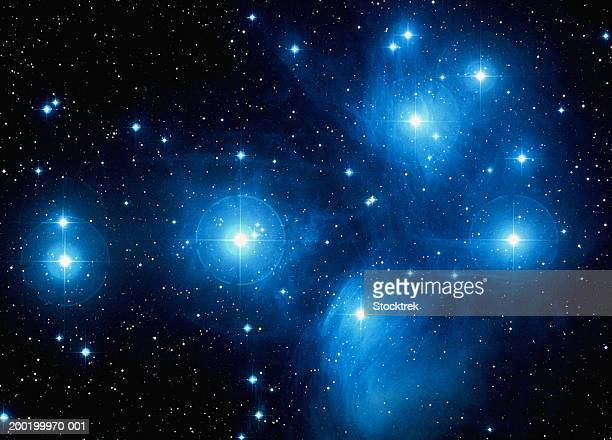 The Pleiades, satellite view