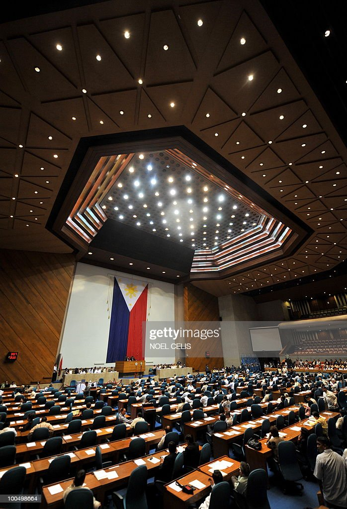 The plenary hall of the Congress in Quez