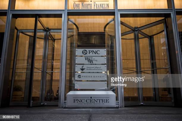 The PNC Financial Services Group Inc Centre stands in downtown Chicago Illinois US on Tuesday Jan 9 2018 PNC Financial Services Group Inc is...