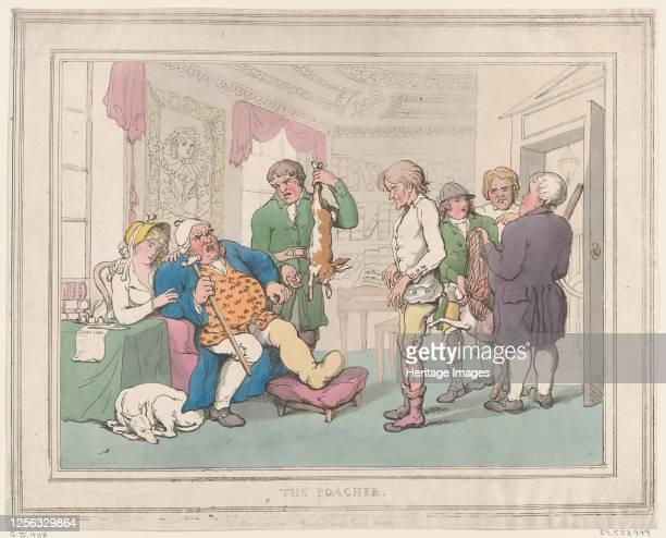 The Poacher May 1 1806 Artist Thomas Rowlandson