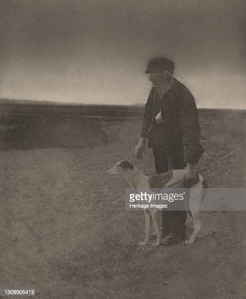The Poacher-A Hare in View, 1888. Artist Dr Peter Henry Emerson. .