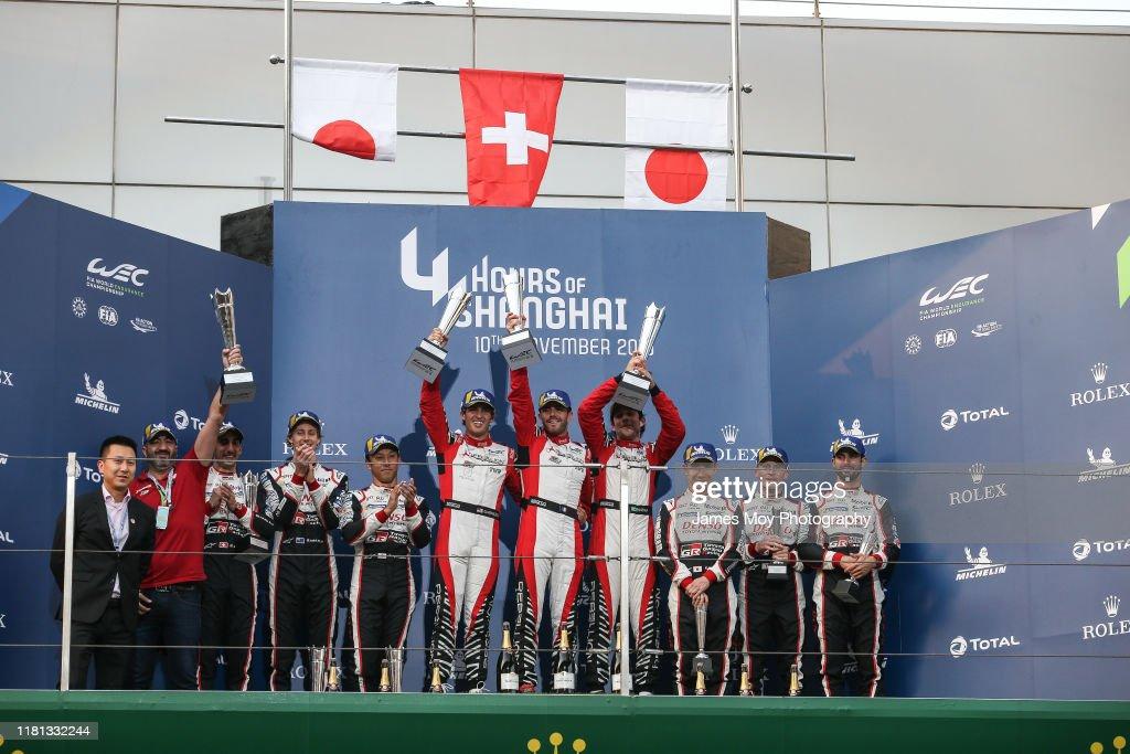 World Endurance Championship = 4 Hours of Shanghai : News Photo