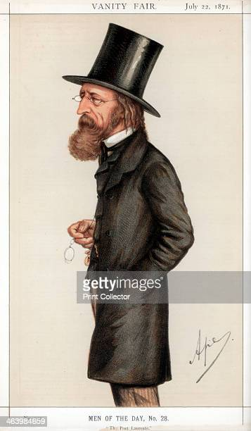 'The Poet Laureate', 1871. Alfred Lord Tennyson , English poet. One of the most popular English poets, he succeeded William Wordsworth as Poet...