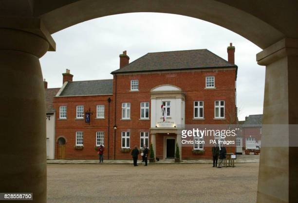The Poet Laureate pub in the village of Poundbury in Dorset which the Prince of Wales officially opened during a visit to the area After opening the...