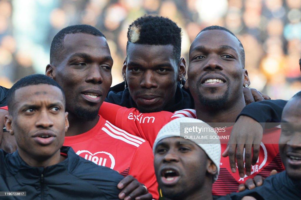 FRANCE-GUINEA-FBL-FRA-GUI-CHARITY : News Photo