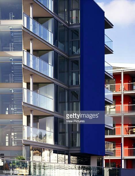 The Point [Apartments] Bristol United Kingdom Architect Feilden Clegg Bradley Architects The Point Bluewall Detail