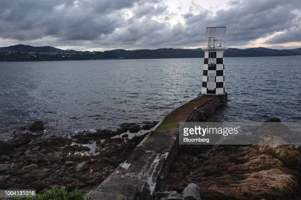 The Point Halswell lighthouse stands in Wellington New Zealand on Wednesday July 18 2018 New Zealand inflation picked up in the second quarter amid...