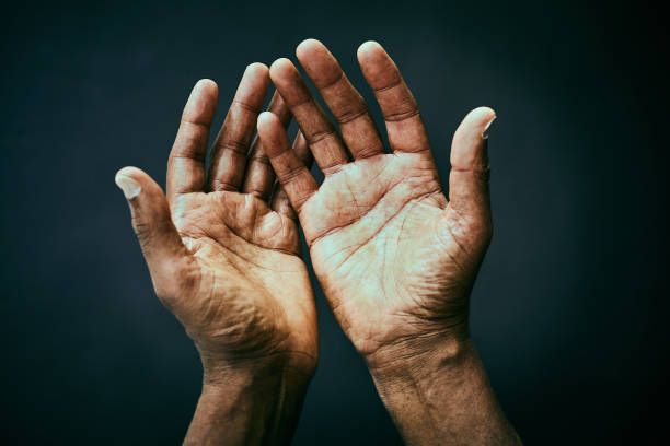 the point of view of looking own hands. - hand stock pictures, royalty-free photos & images