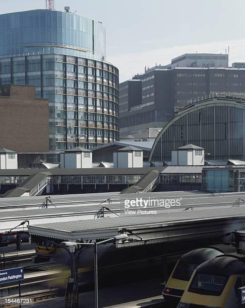 The Point, Paddington Basin, London, United Kingdom, Architect Terry Farrell And Partners The Point, Paddington Basin With Paddington Station From...