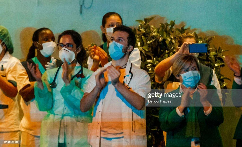 Coronavirus COVID-19 Madrid : Fotografía de noticias