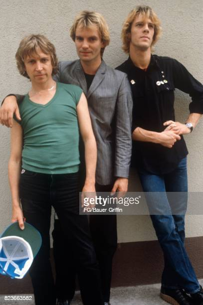 The Police at a TV studio in Munich on June 06 1979 in Munich Federal Republic of Germany 170612F1