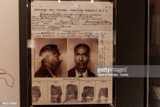 The police card about ' former municipal employee' Renato Castelfranchi he was arrestaded after the killing of the Federale of Ferrara He will be...