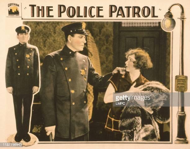 The Police Patrol US lobbycard from left James Kirkwood Edna Murphy 1925