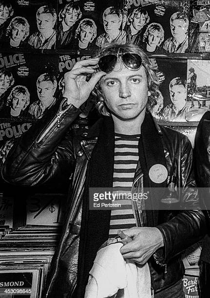 The Police pose at an instore appearance in Berkeley California March 5 1979