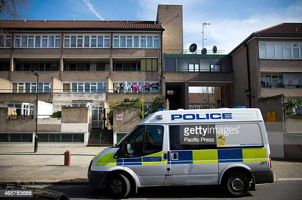 The police seen outside Millicent Fawcett A man was stabbed to death at 73 Millicent Fawcett Pembury Road in the London northern suburb of Tottenham...
