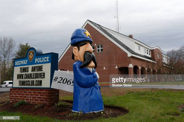 The Police station in Medway Mass on April 29 2018
