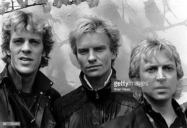 The Police Stewart Copeland Sting And Andy Summers The Gardens Club Kensington London The Police Stewart Copeland Sting And Andy Summers The Gardens...
