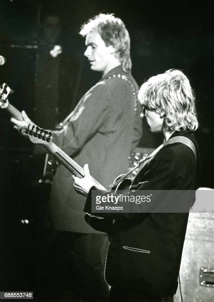 The Police Sting Andy Summers Vorst Nationaal Brussels Belgium