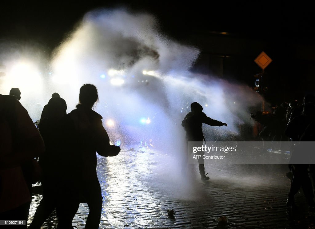 GERMANY-G20-SUMMIT-PROTEST : News Photo