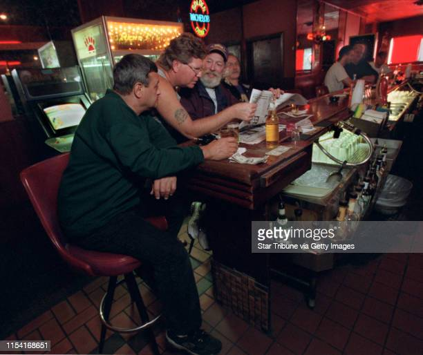 The Polish Palace in Northeast Minneapolis will close its doors Sept 29 IN THIS PHOTO Minneapolis Mn Fri Sept 21 2001 Mike Stoner Dan Raines Mike...