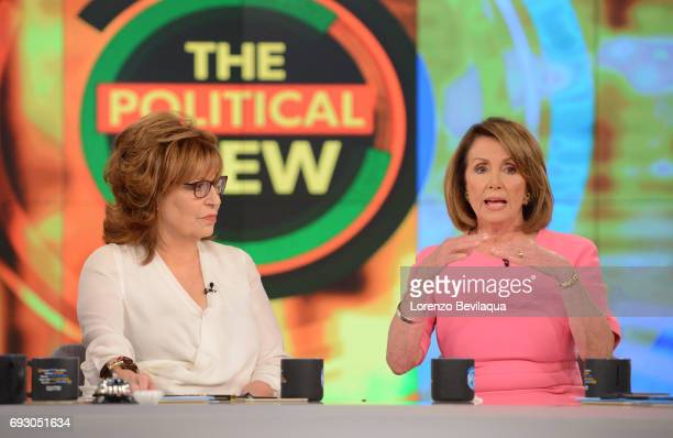 The Political View with Minority Leader of the United States House of Representatives Nancy Pelosi on Walt Disney Television via Getty Images's The...