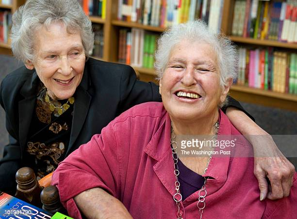 The Politics and Prose bookstore owners Barbara Meade and Carla Cohen are selling the store in Washington DC on June 8 2010 The pair started the...
