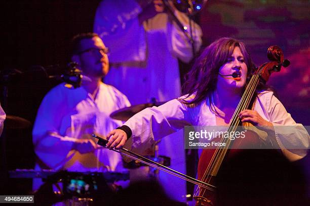 The Polyphonic Spree performs onstage at Highline Ballroom on October 27 2015 in New York City