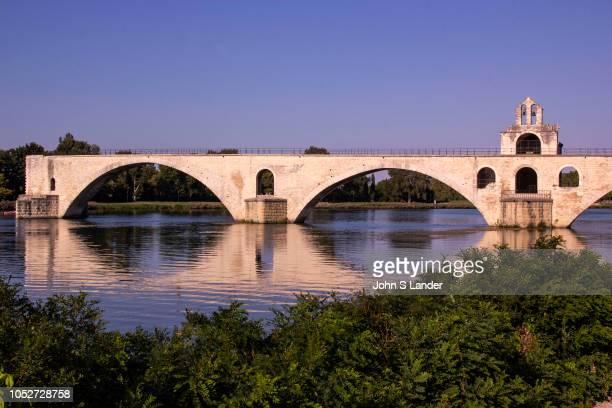 PROVENCE AVIGNON VAUCLUSE FRANCE The Pont dAvignon According to the legend the bridge Pont Saint Benezet was built by Benezet a shepherd who heard...