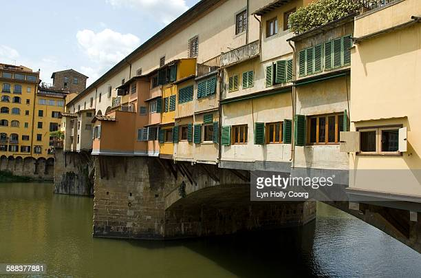 the ponte vecchio - lyn holly coorg stock pictures, royalty-free photos & images
