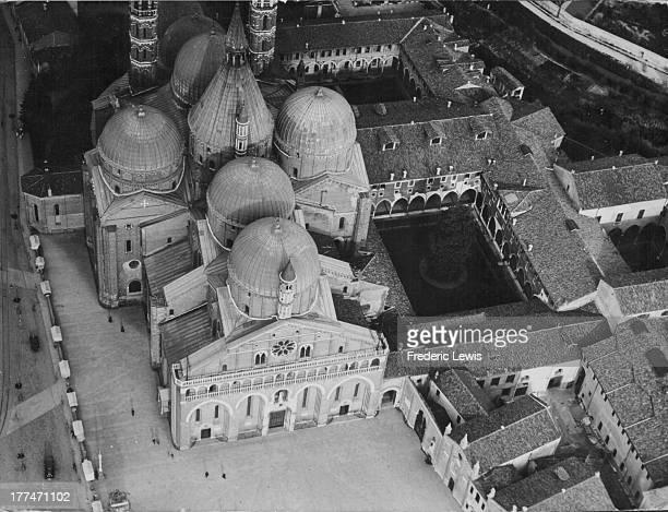 The Pontifical Basilica of Saint Anthony of Padua a Roman Catholic church and minor basilica in Padua Italy circa 19201960