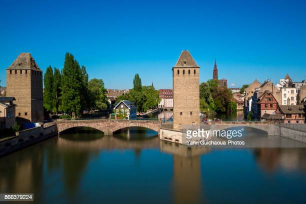 The Ponts Couverts, Strasbourg, Bas Rhin,Alsace, France