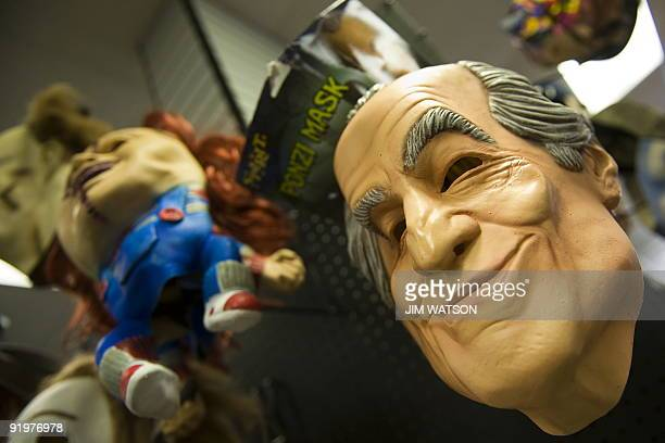 The Ponzi mask a rubber mask of Bernie Madoff who pleaded guilty in March 2009 to a Ponzi scheme that lasted decades and cost investors tens of...