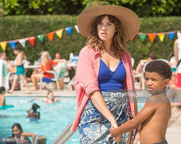 US 'The Pool' Episode 104 Pictured Mandy Moore as Rebecca Lonnie Chavis as 8 year old Randall