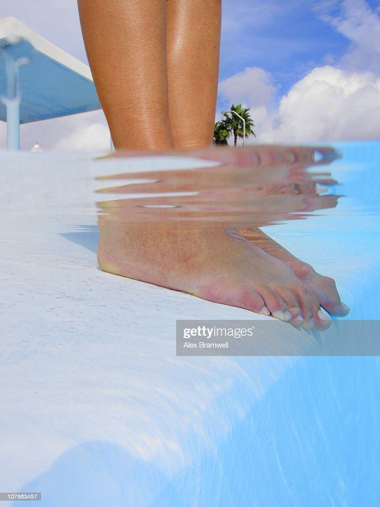 The Pool : Foto de stock