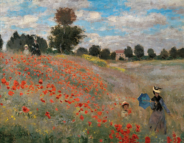 Drop shipping hot Claude Monet's Meadow Road to Pourville