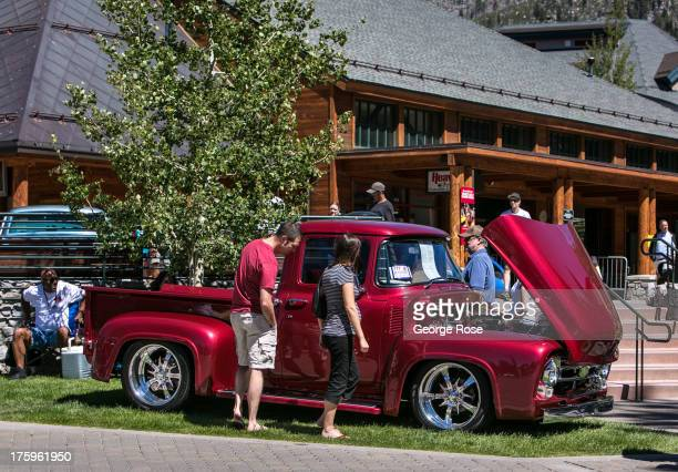 Reno Tahoe Stock Photos And Pictures Getty Images - South lake tahoe classic car show